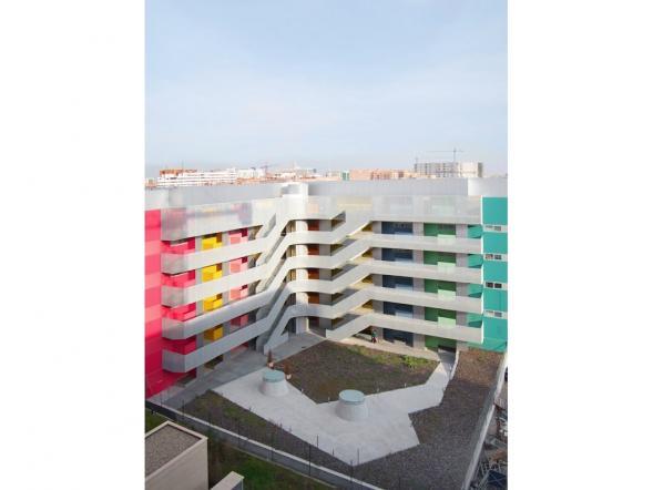 41 sociálních bytů v Vallecas
