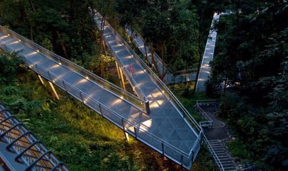 Alexandra Arch a lesní chodník