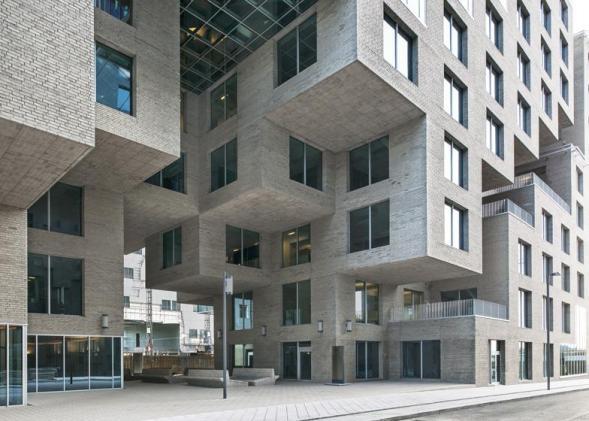 Ústředí DNB bank v Oslu