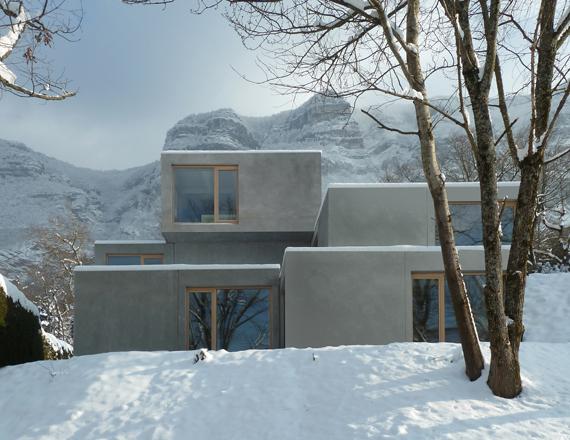 Prefabrikovaná vila v Collonges