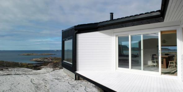 House on the Norwegian Cost - Vardehaugen