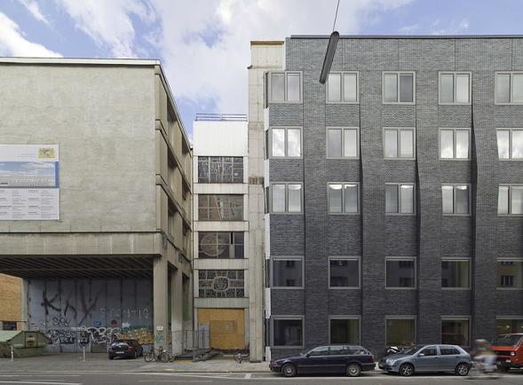 Sanace a přestavba univerzitní budovy TU v Mnichově