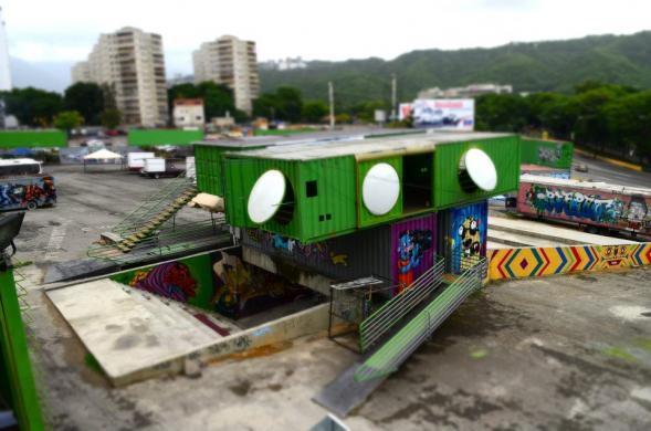 Kulturní park Tiuna El Fuerte