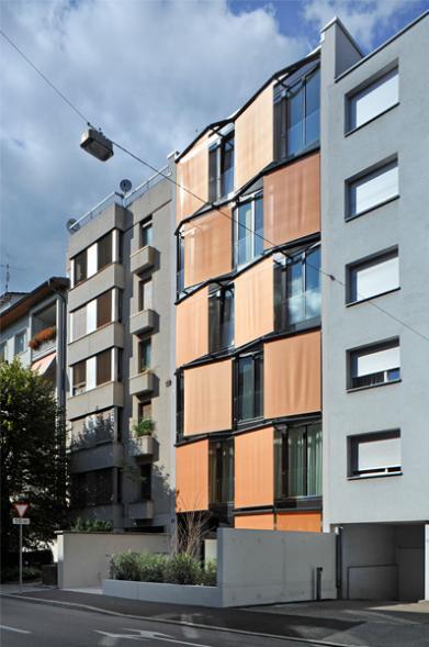 Úzký dům v Baselu
