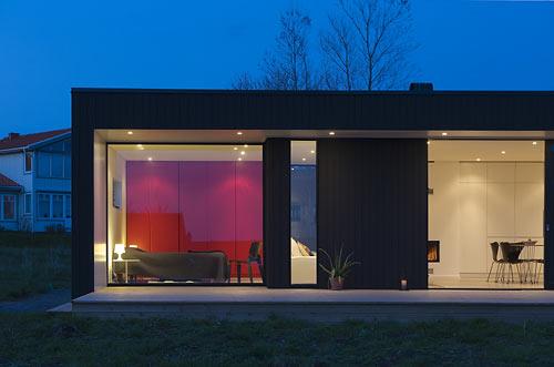 Moderní prefabrikovaný dům