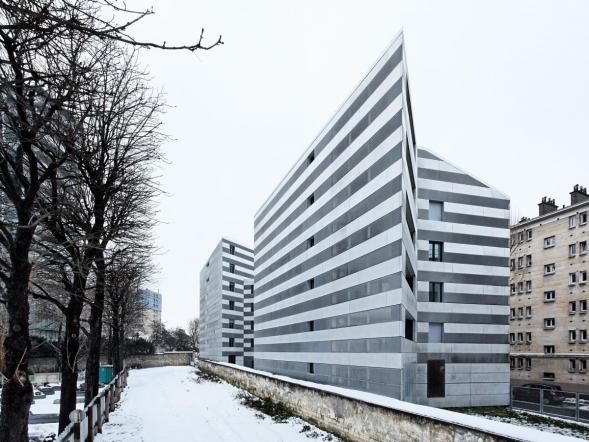 Bytový dům na rue Rebière