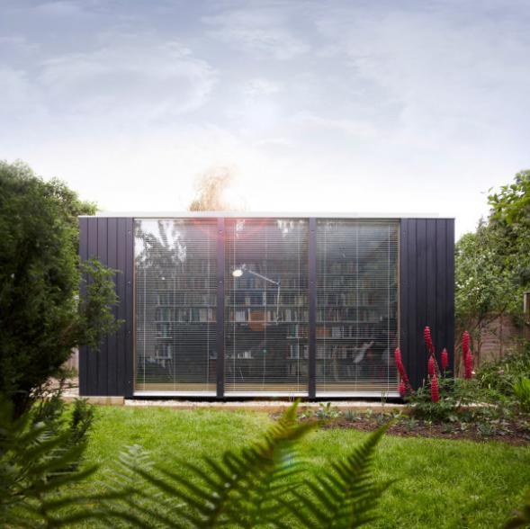 Modulární zahradní knihovna