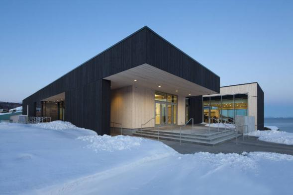 Knihovna Laure-Conan a radnice