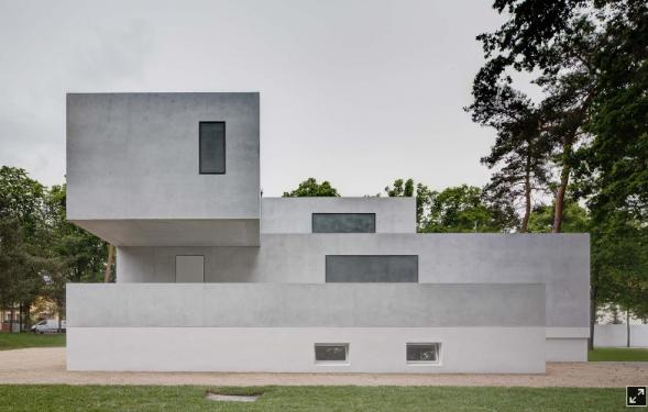 Bauhaus: Mistorvské domy v Dessau