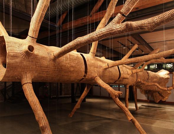Plastika stromu od Johna Grade