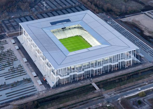 Herzog & de Meuron's Bordeaux Stadion