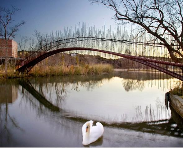 Footbridge in Texas