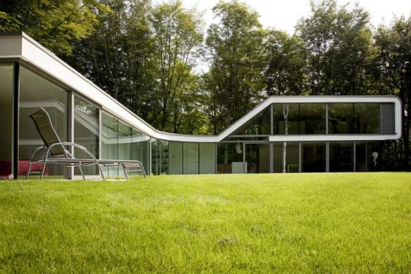 Villa from Architect in Belgian Loppem