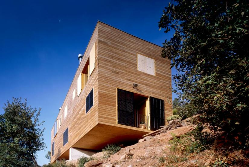 Gallery Of The Post House In Steep Slope Architektura A