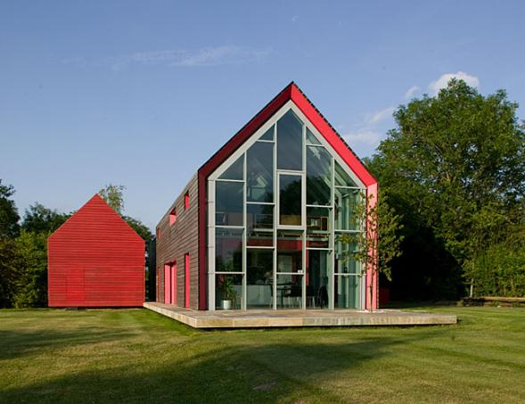 Gallery Of The Post House With Movable Roof