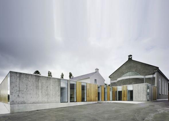 Přístavba ke klášteru Knocktopher