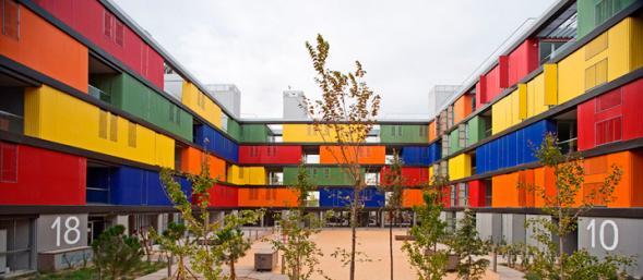 Barvené apartmány