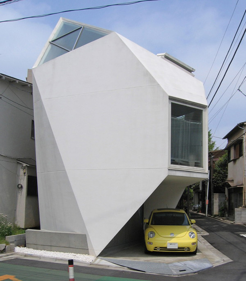 Gallery Of The Post Origami House Architektura A Design