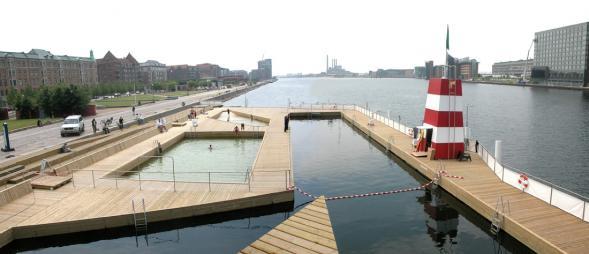 Městská pláž v Kodani
