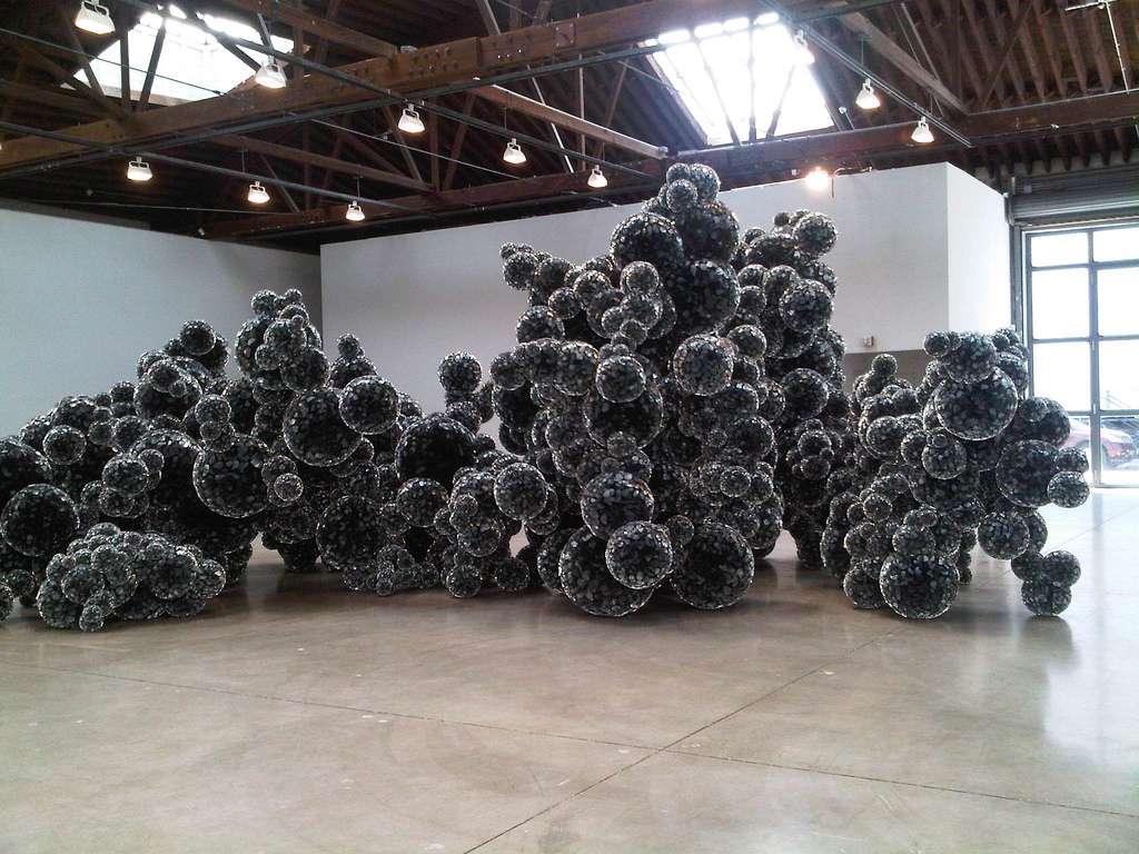 Gallery Of The Post Structures Of Tara Donovan