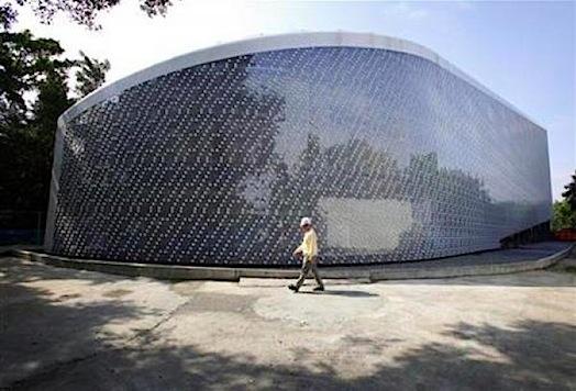 EcoARK - budova z recyklovanou fasádou