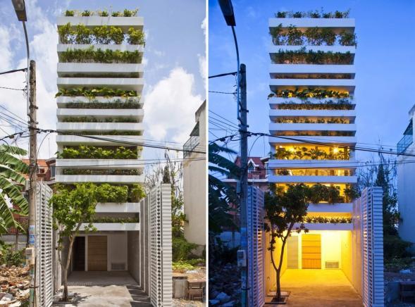 Bydlení za zelenou fasádou